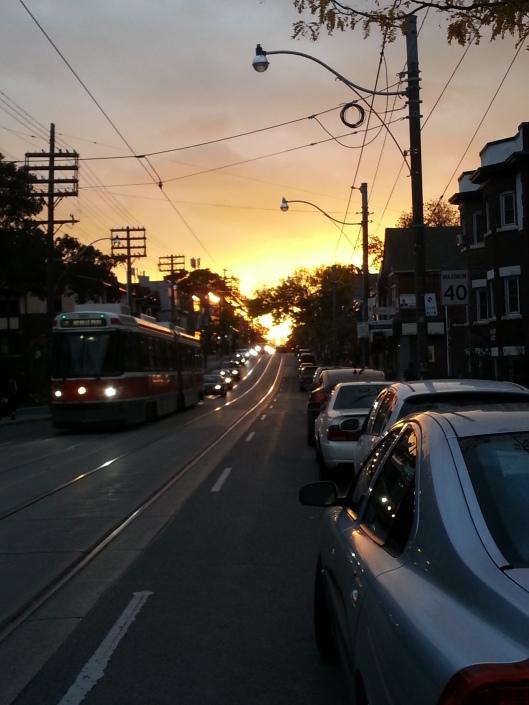 Queen Street Sunset